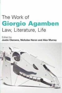The Work of Giorgio Agamben